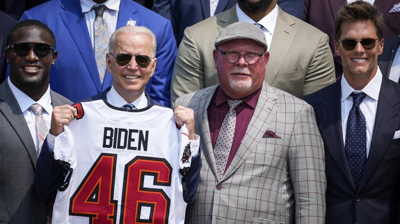 Tom Brady besøker Det hvite hus i 2021