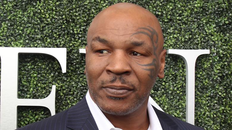 Hvit tiger og Mike Tyson