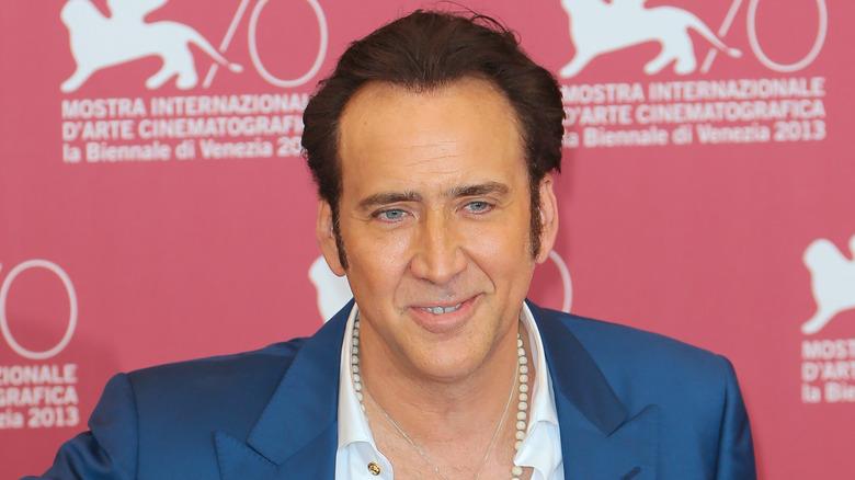 Nicolas Cage smiler