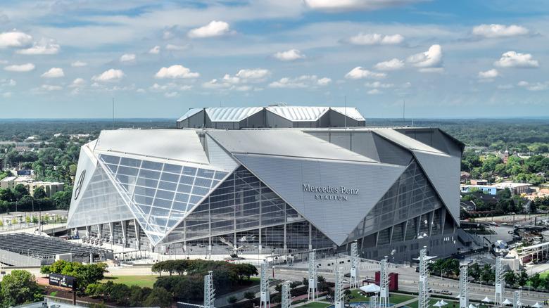 Mercedes-Benz Stadium i Atlanta