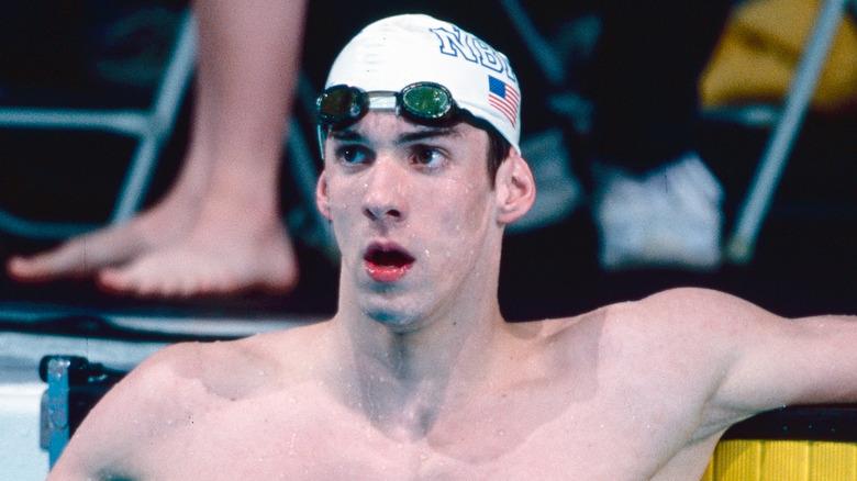 Michael Phelps ved OL i 2000