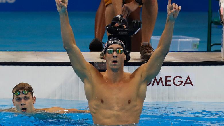 Michael Phelps ved OL i 2016