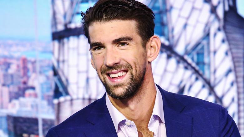 Michael Phelps på et talkshow