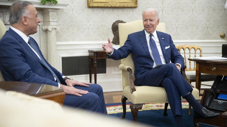 Joe Biden i det ovale kontoret