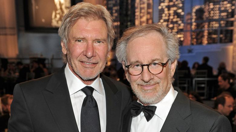 Harrison Ford og Steven Spielberg