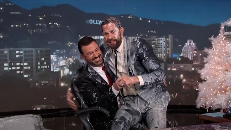 Jimmy Kimmel og John Krasinski