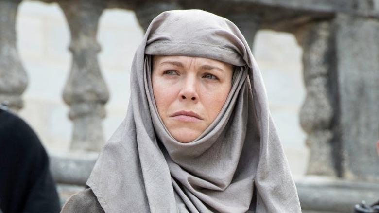 Hanna Waddingham som Septa Unella i Game of Thrones