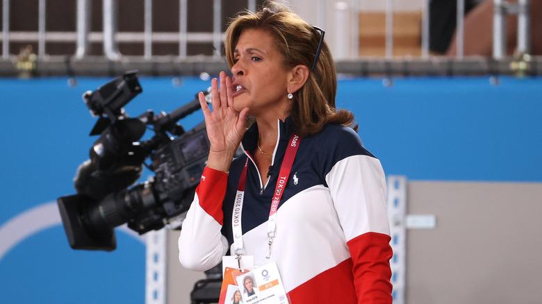 Hoda Kotb heier på USAs gymnastikklag