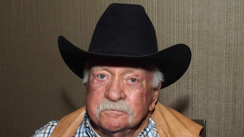 Wilford Brimley i cowboyhatt