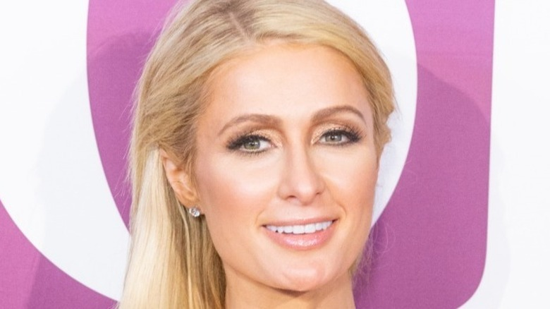 Paris Hilton smiler