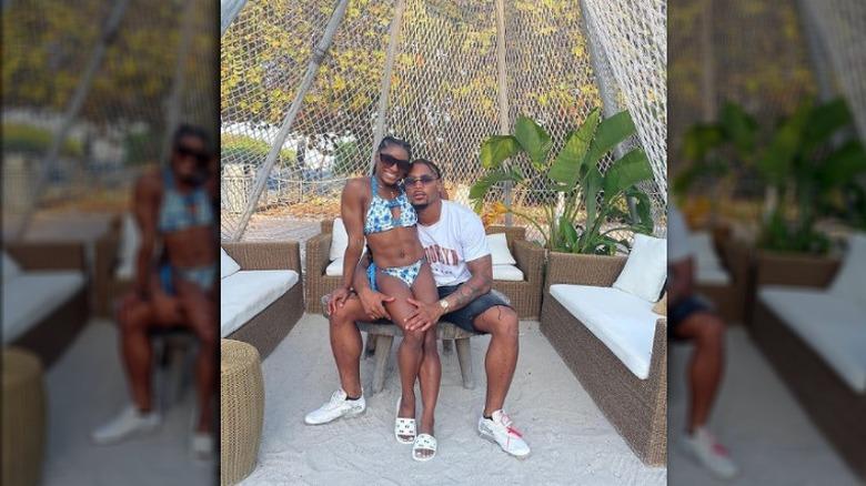Simone Biles og kjæresten hennes på Instagram
