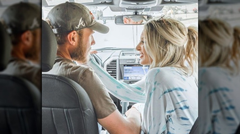 Lindsie Chrisley og den fremmede mannen Will Campbell på et bilde fra Instagram