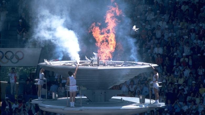 OL i 1988 ble tent