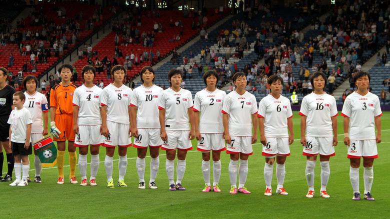 Nord-Korea fotballag for kvinner ved OL i 2012