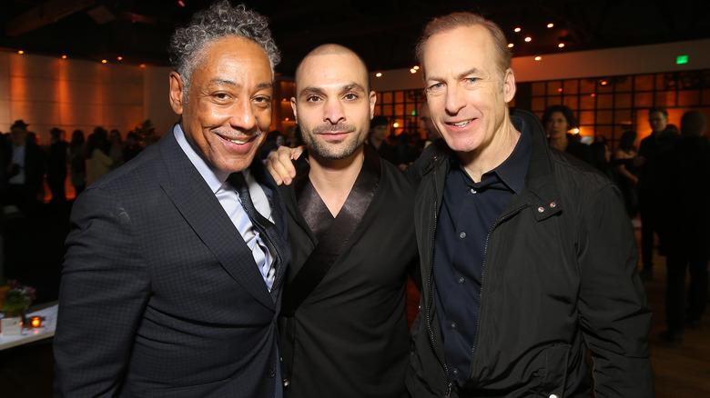 Better Call Saul Giancarlo Esposito Michael Mando Bob Odenkirk