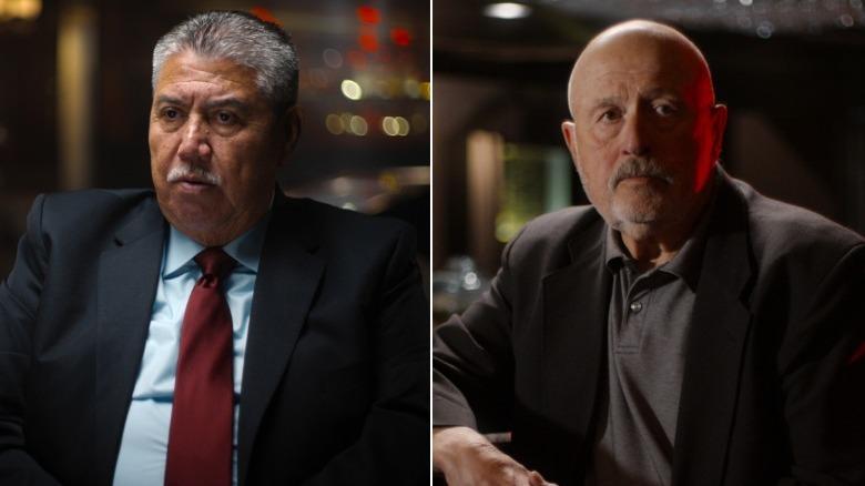 Gil Carrillo og Frank Salerno under intervjuet
