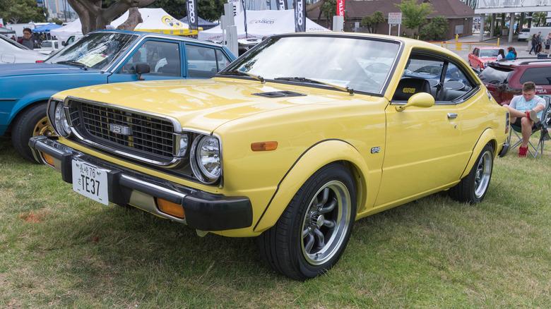 1976 Toyota Corolla som den som Richard Ramirez stjal