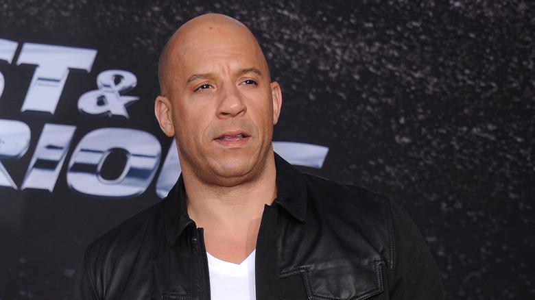 Vin Diesel på premiere