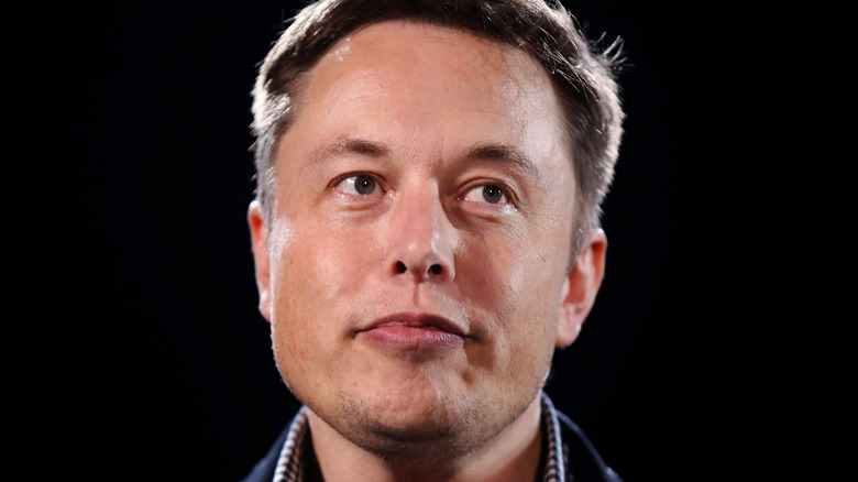Elon Musk på et arrangement