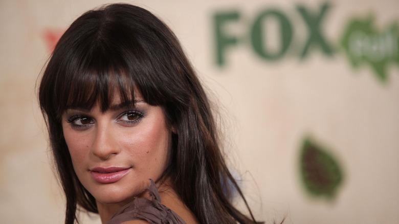 Lea Michele på Fox-arrangementet