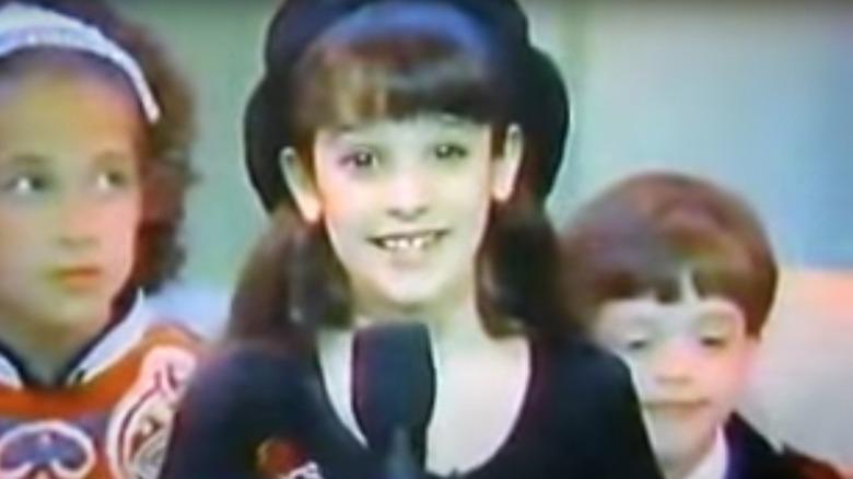 Lea Michele 8 år gammel