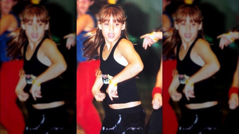 Montana Tucker danser som barn