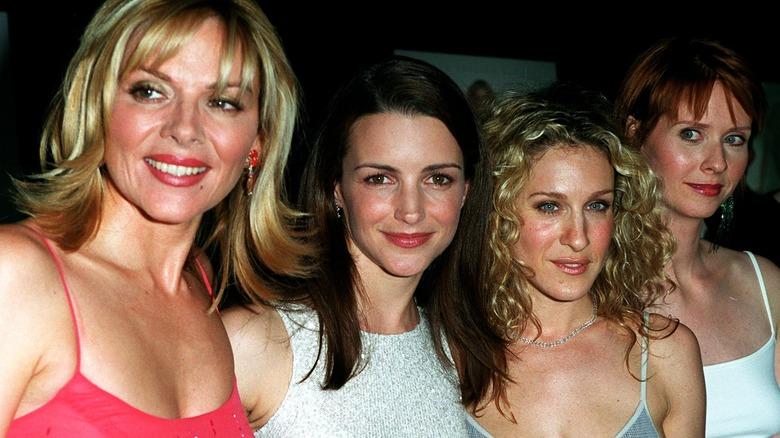 Kim Cattrall, Kristin Davis, Sarah Jessica Parker og Cynthia Nixon i 2000