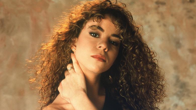 Mariah Carey poserte i 1990