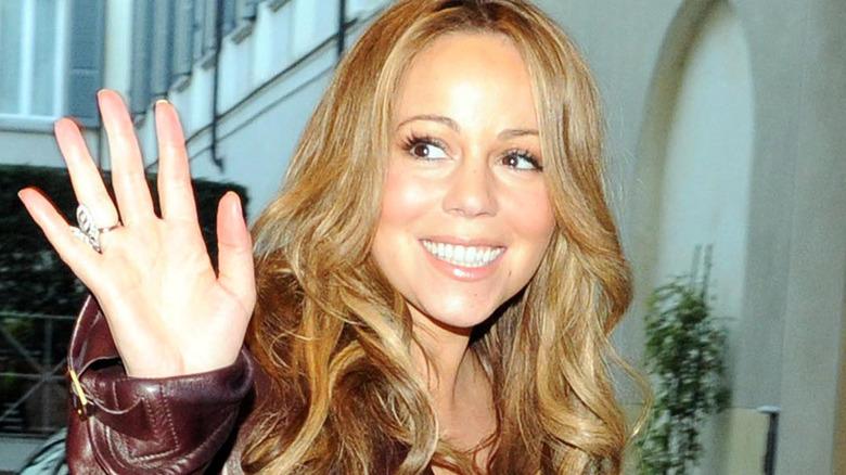 Mariah Carey vinker