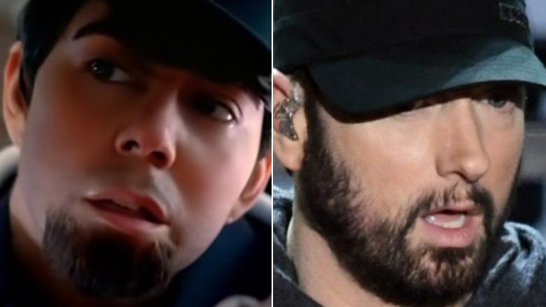 """Mariah Carey i """"Obsessed"""" musikkvideo, Eminem snakker"""