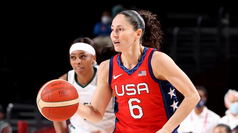Sue Bird spiller olympisk basketball