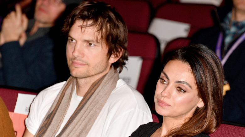 Ektefeller Ashton Kutcher og Mila Kunis