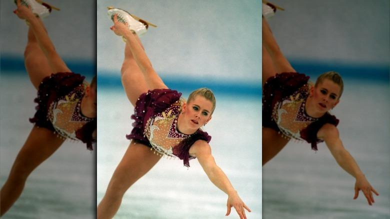 Tonya Harding skøyter