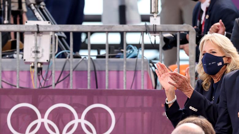 Jill Biden i Tokyo 2020-OL