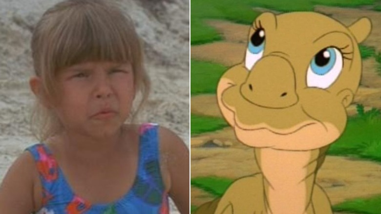 """Judith Barsi i """"Jaws: The Revenge"""", Ducky from """"The Land Before Time"""""""