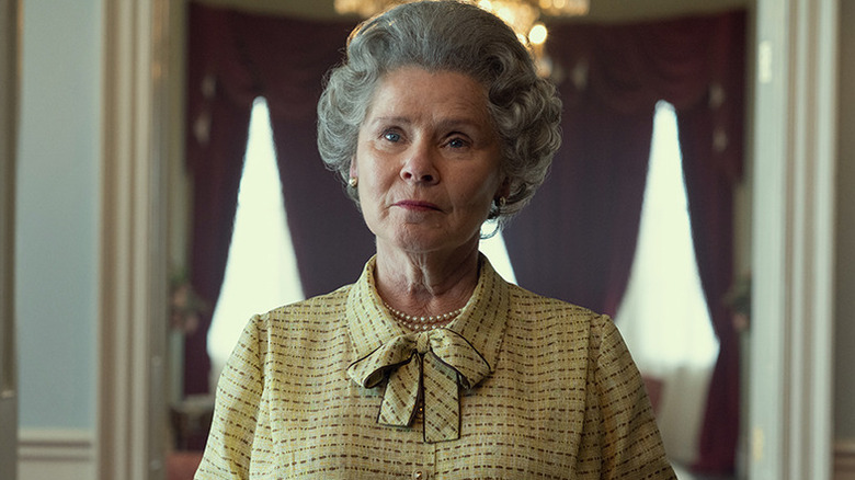 Imelda Staunton som dronning Elizabeth II