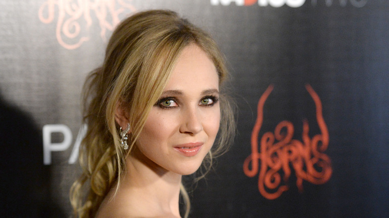 Juno Temple at Horns premiere