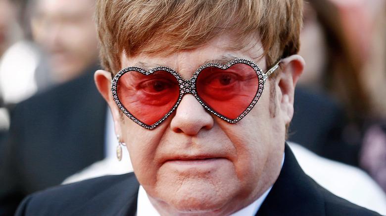 Elton John på rød løper