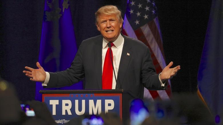 Donald Trump på et arrangement