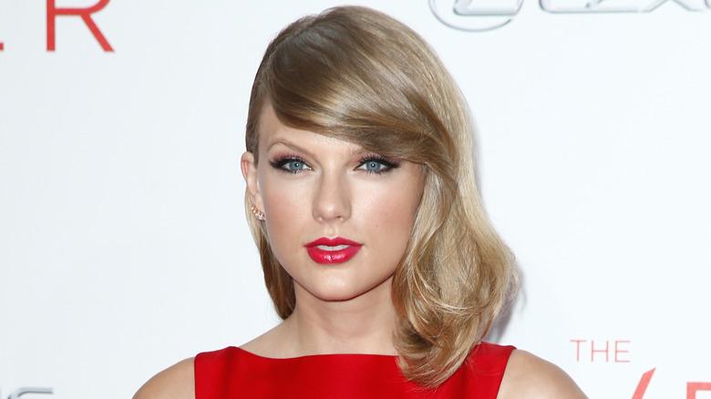 Taylor Swift på en premiere