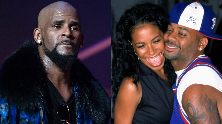 R. Kelly, Aaliyah og Damon Dash