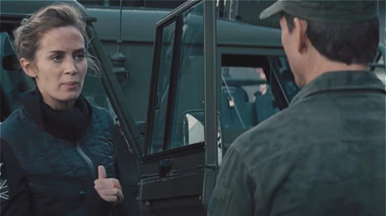Emily Blunt og Tom Cruise i Edge of Tomorrow