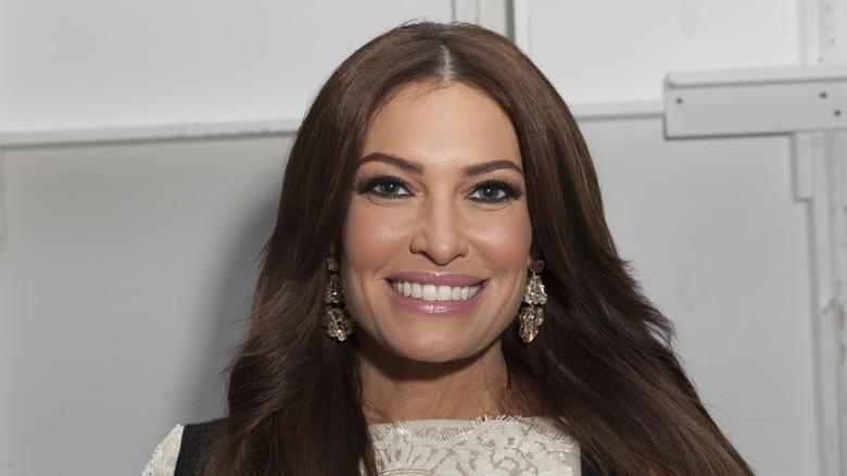 Kimberly Guilfoyle med et bredt smil