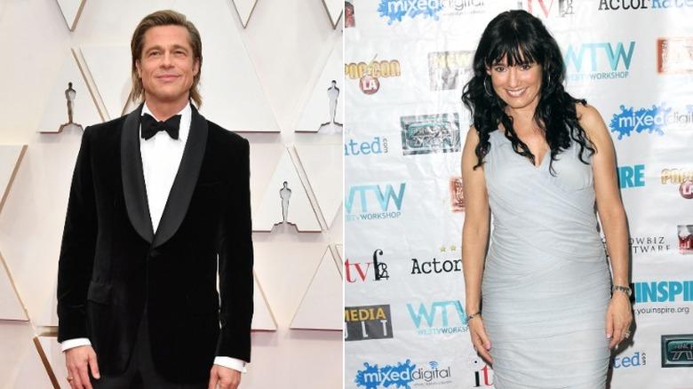 Brad Pitt og Jill Schoelen
