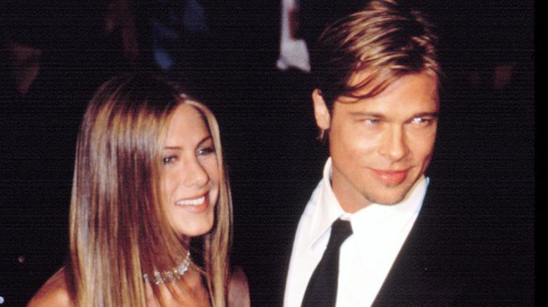 Brad Pitt og Jennifer Aniston