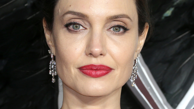 Angelina Jolie, poserer