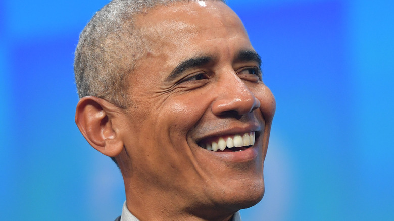 Barack Obama smiler