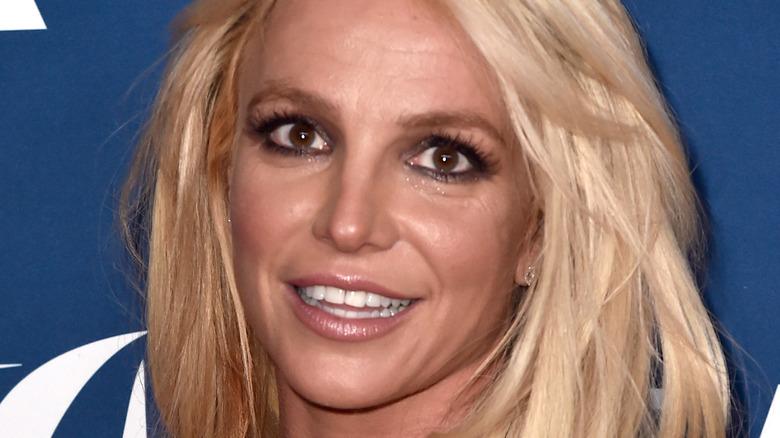 Britney Spears på arrangementet