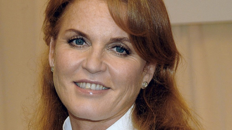 Sarah Ferguson smiler