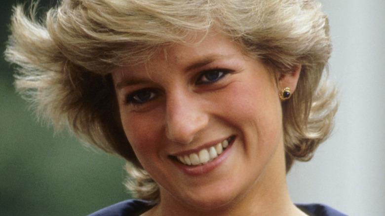 Prinsesse Diana, smilende, 1987-bilde